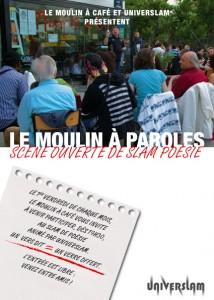 Scène ouverte poétique @ le Moulin à Café / Paris | Paris-14E-Arrondissement | Île-de-France | France