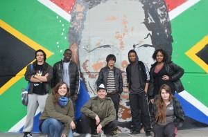 La dream team, élèves et animateurs. Fil 2 l'R, Clim, King Bobo, Nath, Victor, Eliana, Alex, Gabrielle, Malik.