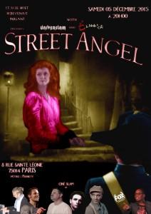 Affiche L'Ange de la rue